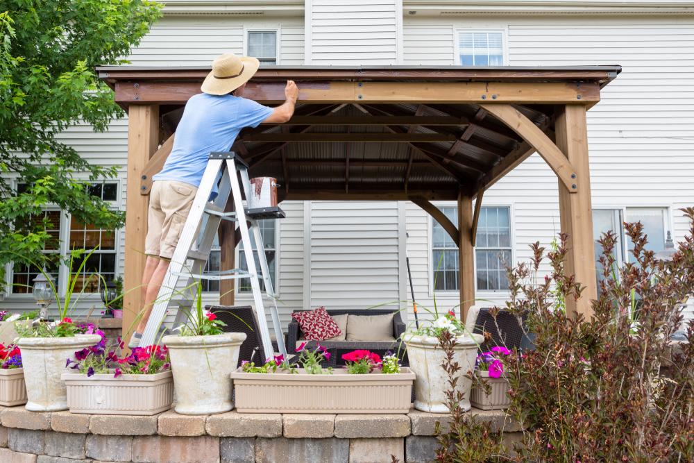 Das Terrassendach selbst bauen: Was ist zu beachten ...