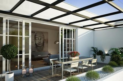 Terrassenuberdachung Material Baurecht Preise Terrassendach